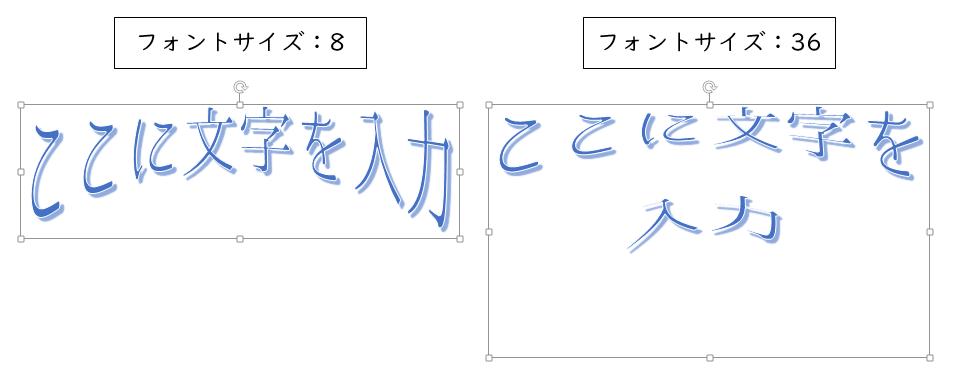 ワードアート変形2